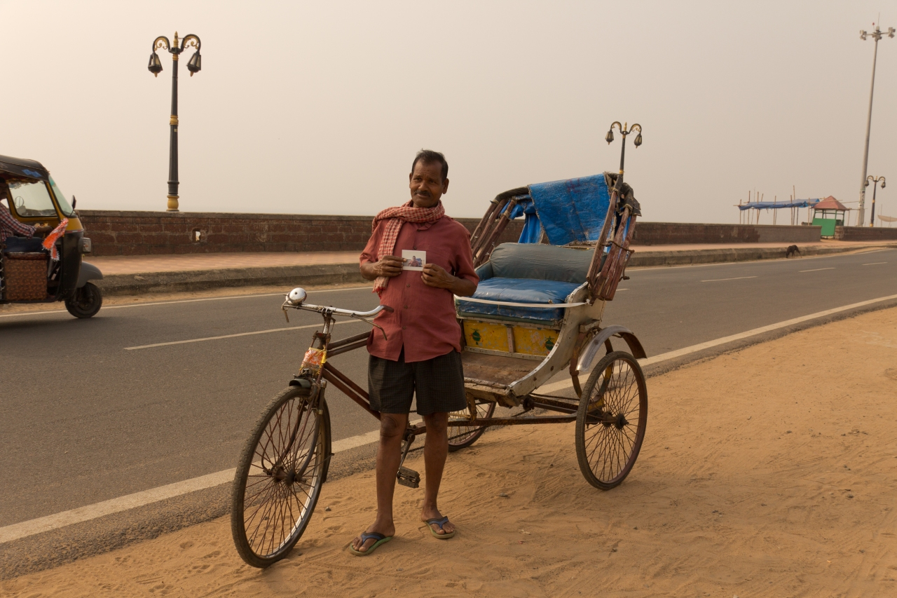 Puri Beach Rickshaw DriverNarayan